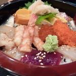 鮨処 銀座福助 - 2012年12月バラちらしアップ