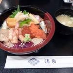 鮨処 銀座福助 - 2012年12月バラちらし