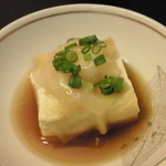 味工房すず - 2010.12お通し温かい豆腐