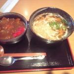 どんた - 日替りランチ カレー丼セット 700円