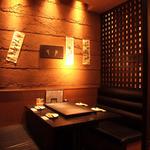 鉄板二百℃ 秋葉原店 - ☆格子で囲まれたテーブル席お早めの予約必須☆