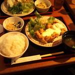 こだわりや - チキンなんばん定食(680円)