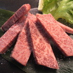 祇をん焼肉 茂  - シャトーブリアンの薄切り(しお)