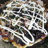月ちゃん - 料理写真:お好み焼き550円~。 ボリューム満点。初めての方は是非、豚玉をどうぞ♪