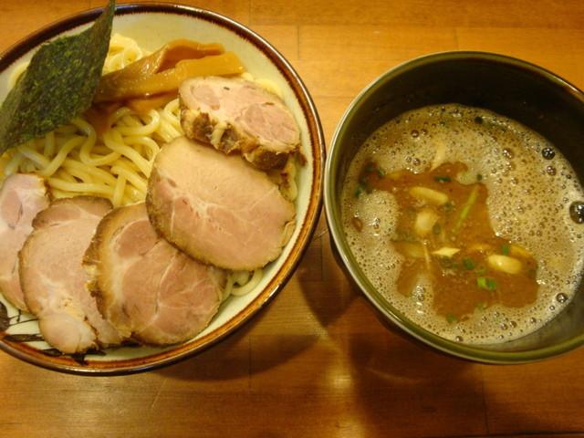 麺屋 清水 - つけ麺(中盛り) トッピング:チャーシュー