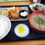 まんぷくてい - 豚汁定食700円