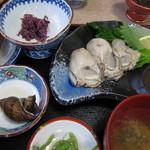 ちどり - 岩ガキ定食
