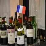 ワインバー&レストラン ブルディガラ - バッセンされた銘醸ワイン達
