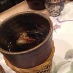帆掛鮨 - ひれ酒。。。すでに記憶が(__)