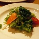 カマラダ - サーモンマリネのハーブサラダ
