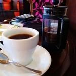 16247984 - コーヒーはボダムのプレスで。