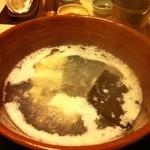 16248055 - 季節のこだわり懐石「椿」5000円 黒毛和牛のしゃぶしゃぶ