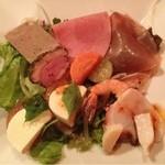 ラ・ペタンク - 料理写真:前菜盛り合わせ(ディナーセット)