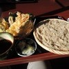 そば処花園山房 はるき - 料理写真:天ざる蕎麦
