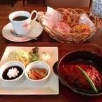 ブーランコ - ハンバーグランチ(パン食べ放題)