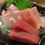 16251930 - 島魚のお刺身盛り合わせ