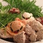 Emuzupureto - 博多水炊き、ズゴック、アッガイと共に@鍋パーティー