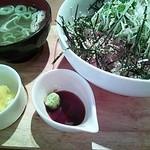 16253145 - 鯵と天然ぶりの薬味丼