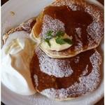 バーガーマニア - バターミルクパンケーキ