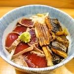 鮨 来多老 - づけ、穴子丼¥1000