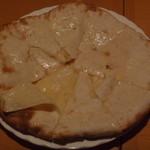 ヒマラヤ - チーズナン 生地がめくれたままです・・・