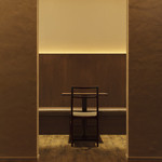 "Le 4 Stagioni Italiane ""IL PARCO"" - 半個室の入口。2次会では新郎・新婦さんの特等席。"
