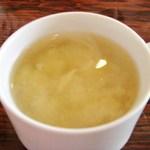 あけぼの - オムライスの味噌汁w