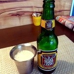 南インド家庭料理 カルナータカー - ブラックイーグル エキストラ ストロングビール