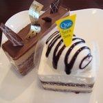 1626637 - チョコバナナ&生クリームとチョコレートムース