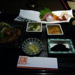 旬鮮台所 Zen - ランチ「Zen膳」…実物
