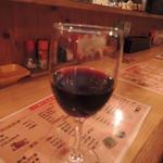 やきとり居酒屋鳥心 - 赤ワイン