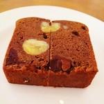 16262851 - 渋皮栗とビターチョコのケーキ
