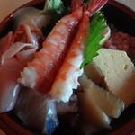 一本寿司 - 料理写真:並ちらし:1680円