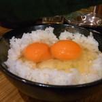 かんぱいや Sh∅uten - STKG(すてきなたまごかけごはん) 卵は何個でもかけ放題!