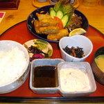 信長 - カキフライ定食