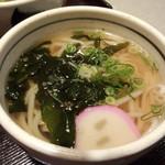 ひさ家 - うどん・細麺