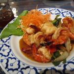 キンカーオ - 海老の炒め物