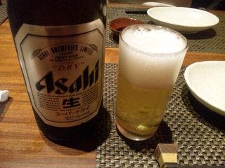 快食倶楽部 万年 - スーパードライ中瓶 600円