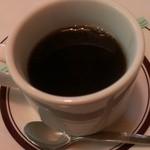 扇や - ランチのコーヒー