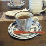 はた屋 - そば膳のコーヒー