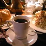 16270366 - H24/10ランチ、ばっけとセットのKAKOブレンドに、パン、サラダ