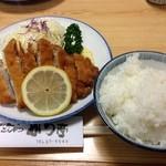 かつ亭 - ロースかつ定食 950円