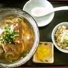 marumatasoba - 料理写真:ソーキそば ・650円  と  じゅうしい ・100円