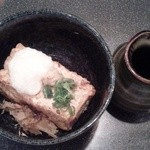 居酒屋 海賊 - 山かけ揚げ出し豆腐400円