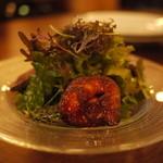 フレンチーズ - 鴨(生ハム・砂肝)とフォアグラのサラダ