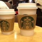 スターバックス・コーヒー - 2012/12 スターバックス ラテ-HOT -Tall ¥380 、バニラ ソイ ラテ -HOT- Short ¥440