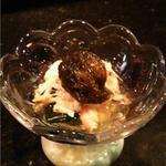 食通が集う店 笑雲 - 毛ガニの酢の物
