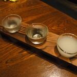なべ駒 - 料理写真:一白水成三昧
