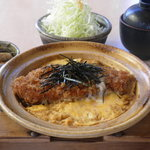 とんかつ 喜太条 - あったか ロースかつ鍋定食