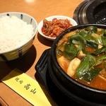 焼肉 高山 - トーフチゲ定食 \1050